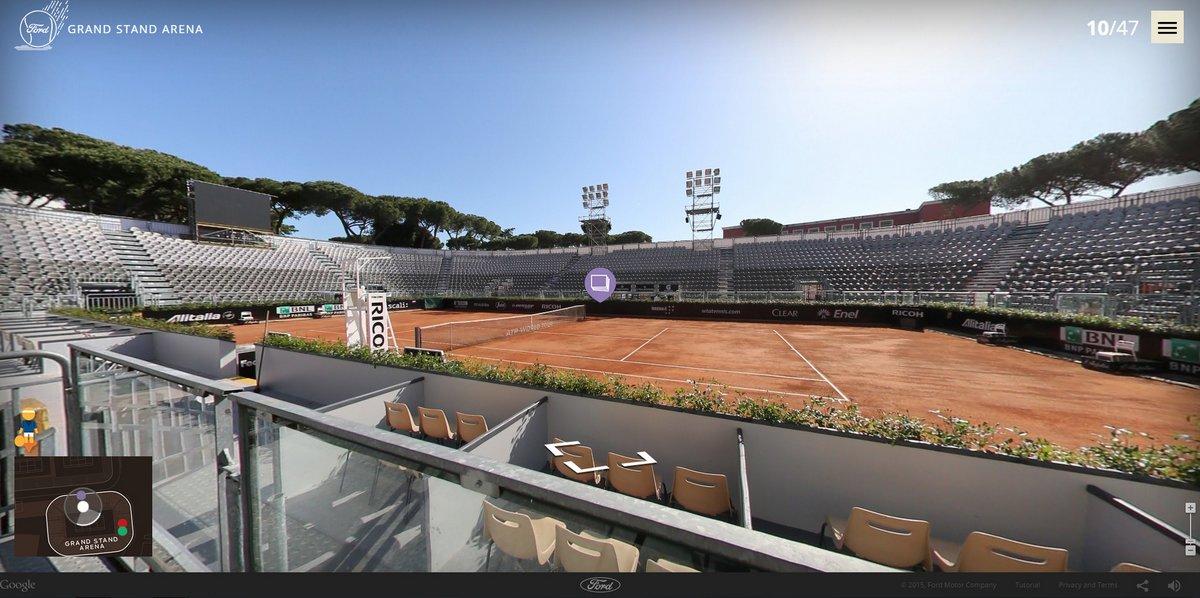 Resultado de imagen de grandstand arena foro italico