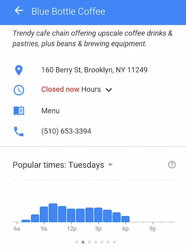 blue bottle coffe google search
