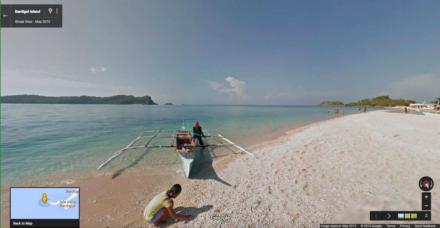 Street View Philippines Bantigul Island