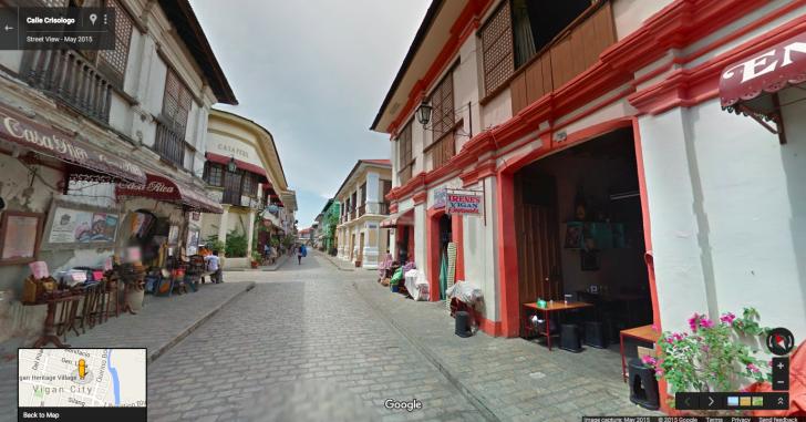 Street View Philippines Vigan