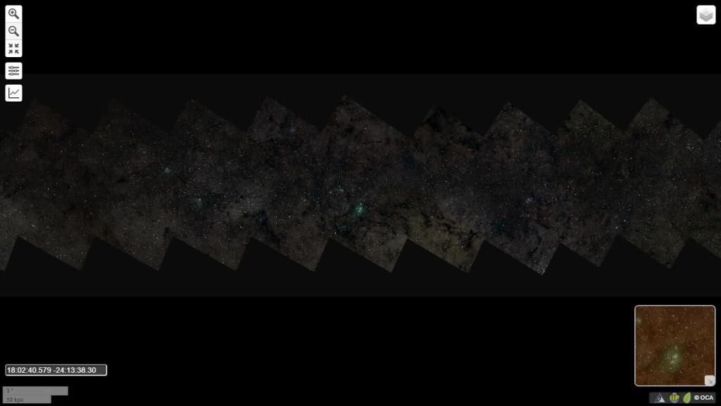 46gigapixel via lattea panoramica