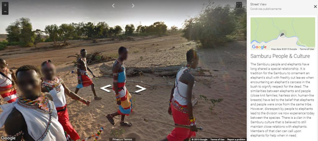 samburu google streetview people