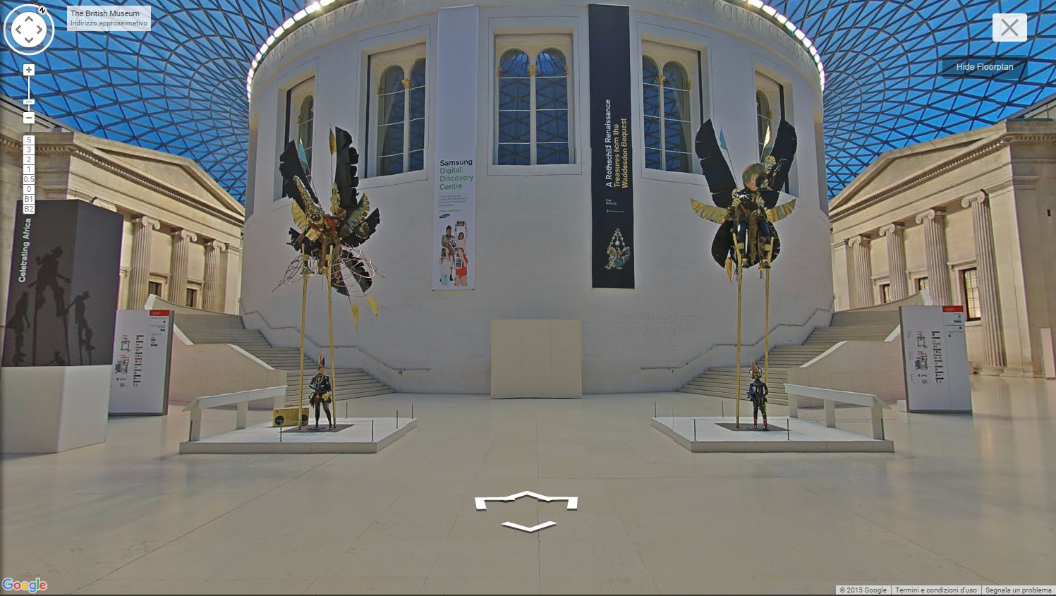 the british museum google cultural street view