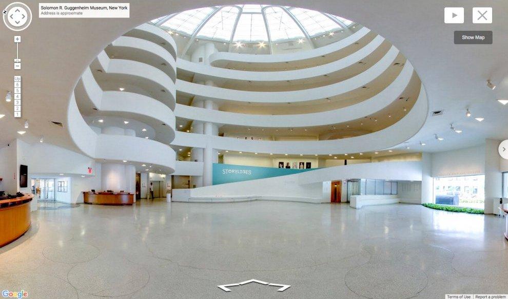 Guggenheim Google StreetView