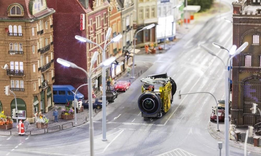 Miniatur Wunderland StreetView Auto