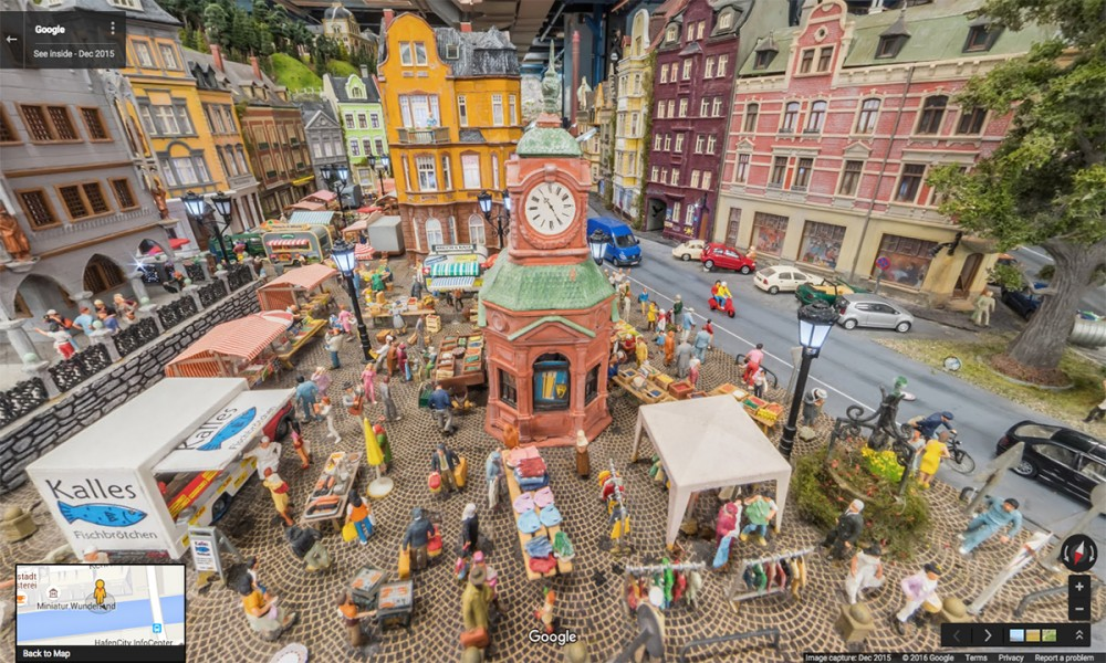 Miniatur Wunderland mercato