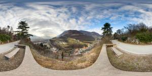 Panorama Doss Trento