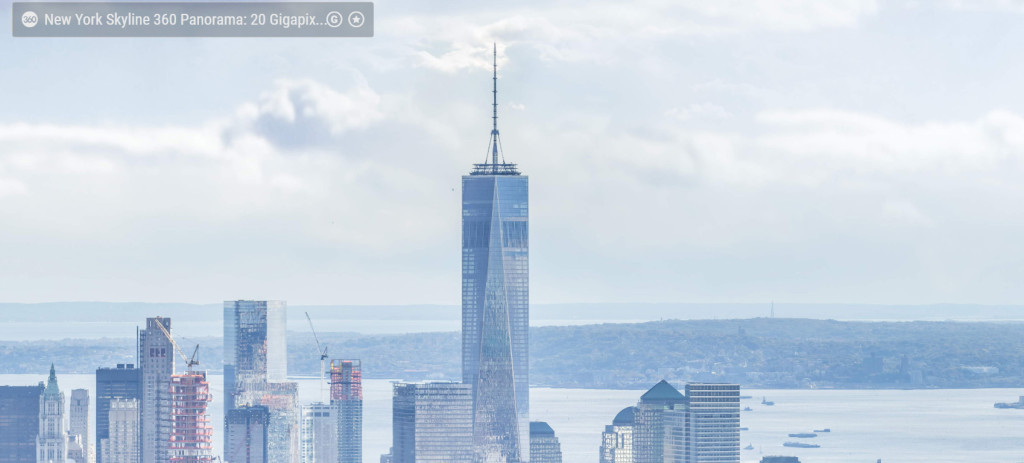 new york skyline detail