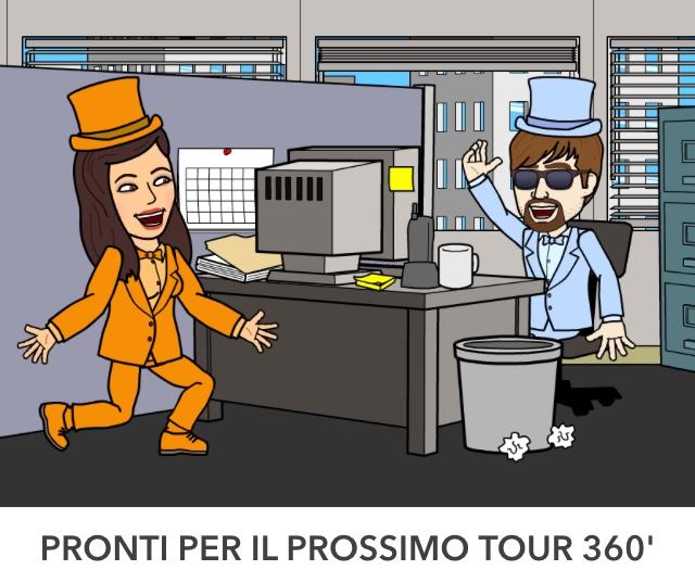 pegmantour comics - pronti per il prossimo tour360