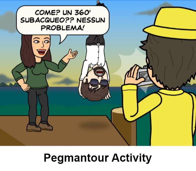 pegmantour - comics - sub activity