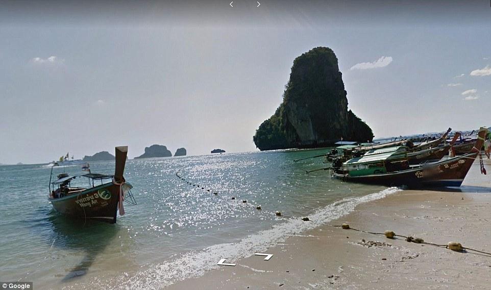 thailand google maps