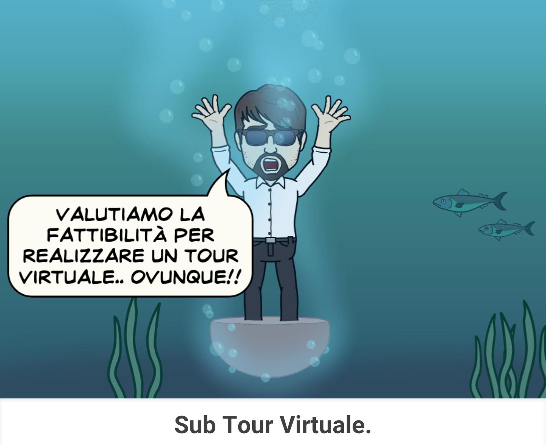 pegmantour comics - sub tour virtuale