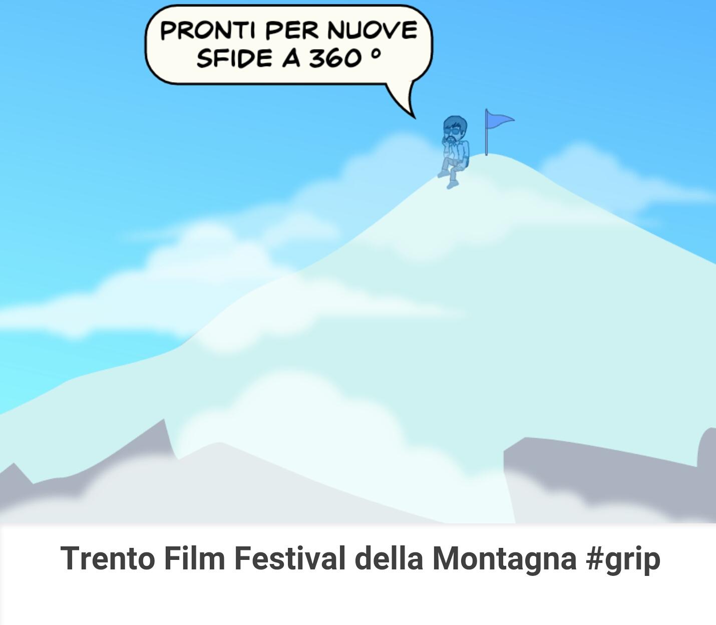 pegmantour - comics - trento film festival - pronti per nuove sfide