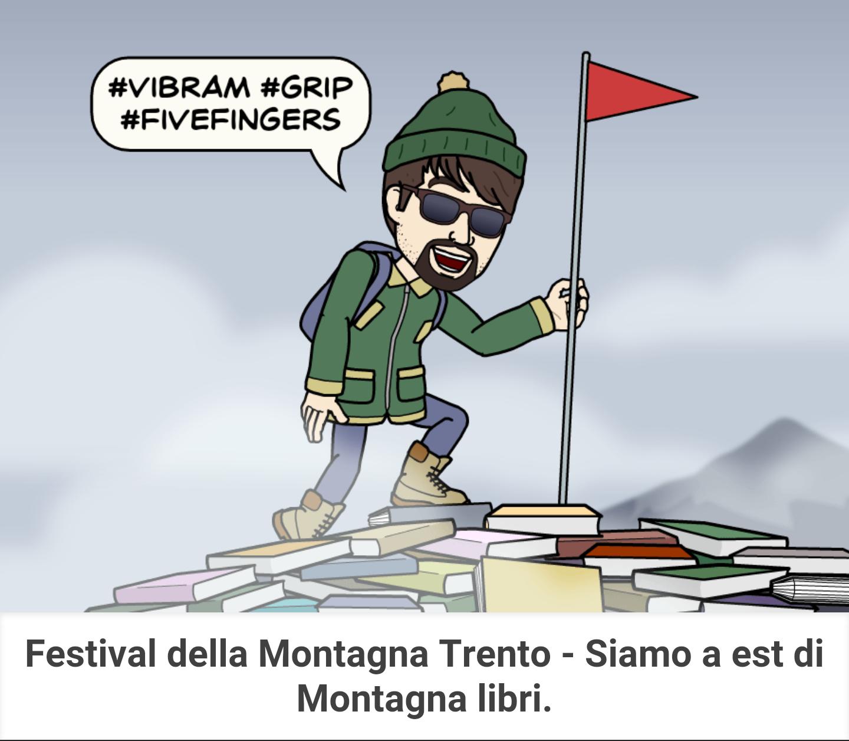 pegmantour - comics - trento film festival - siamo ad est di montagnalibri