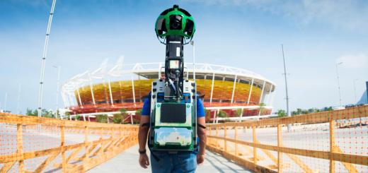 google maps streetview rio de janeiro olimpiadi 2016